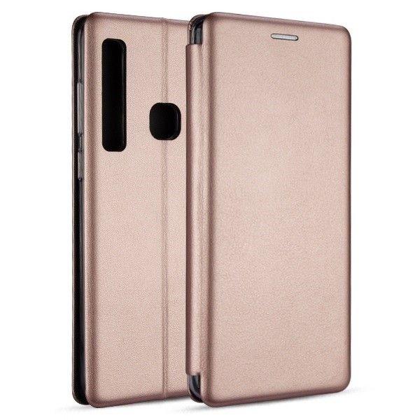 Etui Book Magnetic iPhone 7/8 różowo-złoty zdjęcie 1