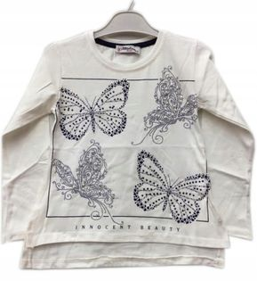 Bluzka dziewczęca Motylki. roz.122