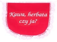 Fartuszek Kawa, Herbata Czy Ja?