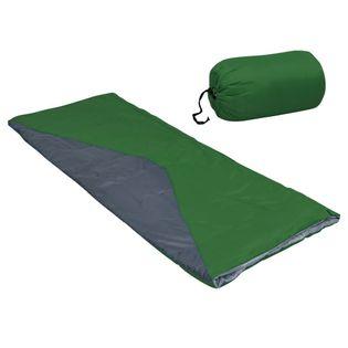 Lumarko Lekkie śpiwory prostokątne, 2 szt., zielone, 1100 g, 10°C!