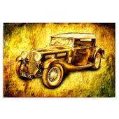 Obraz na płótnie - Canvas, Auto retro 100x70 zdjęcie 1