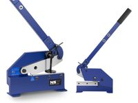Nożyce do blachy i prętów - gilotynowe - ręczne - 170 mm MSW MSW-HS8