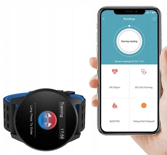 Smartwatch Zegarek Smartband Krokomierz Pulsometr T274 zdjęcie 8