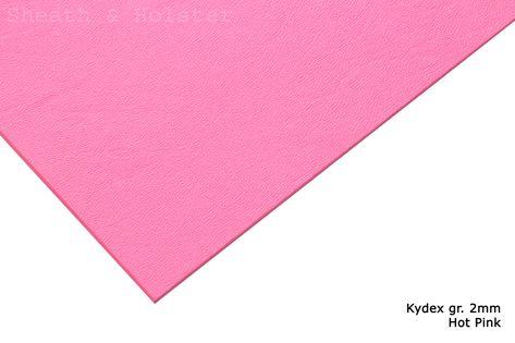 Kydex Hot Pink - 200x300mm gr. 2mm