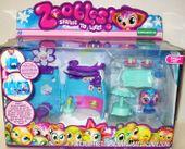 Oryginalny zestaw Zoobles skrytka kryjówka HIT!
