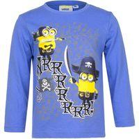 T-Shirt Bluzka Minions r104 Licencja Illumination (EP1024 Blue 4Y)