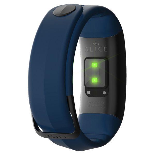 MIO SLICE zegarek smartband pulsometr NAVY rozmiar S zdjęcie 2