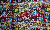 Folia Odcinek Okleina Sticker Bomb 1,52X0,1M Wzór4