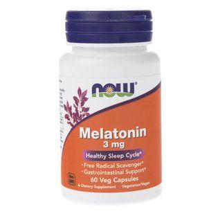 Now Foods Melatonina 3 mg - 60 kapsułek