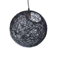 Lampa wisząca RETRO bawełniana kula led 200mm E27 cotton ball l ULFN78