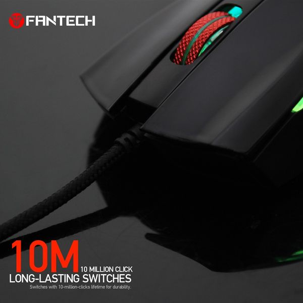 Mysz myszka dla gracza podświetlana 4800DPI Fantech X4 TITAN zdjęcie 6