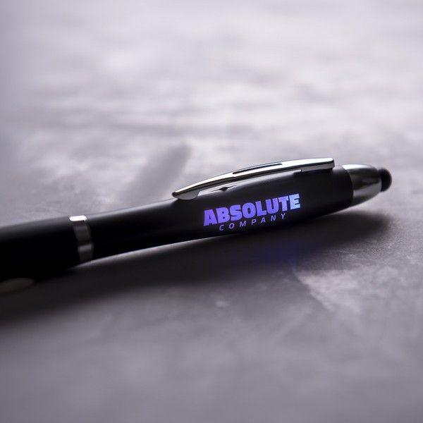 Długopis ze Wskaźnikiem LED 145974 Czarny zdjęcie 3