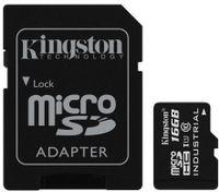 Karta Pamięci Kingston Microsdhc 16 Gb Adapter Sd