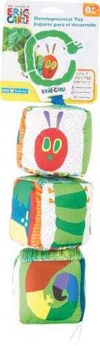 Bardzo Głodna Gąsienica - kolorowy kostki dla maluszka zdjęcie 1