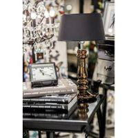 Lampa stojąca PETIT TRIANON COPPER, abażur czarny-miedź, wymiary 56/33