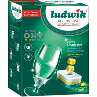 Tabletki do zmywarki Ludwik All in One 120 sztuk