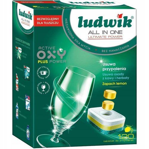 Tabletki do zmywarki Ludwik All in One 120 sztuk na Arena.pl