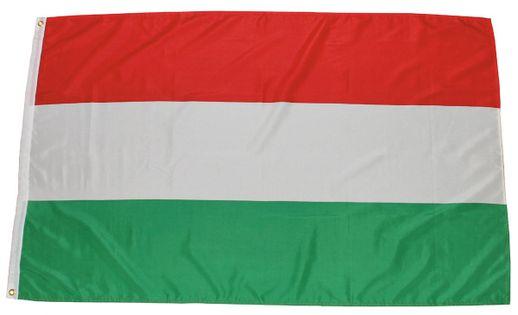 FLAGA WĘGRY 150 x 90 cm