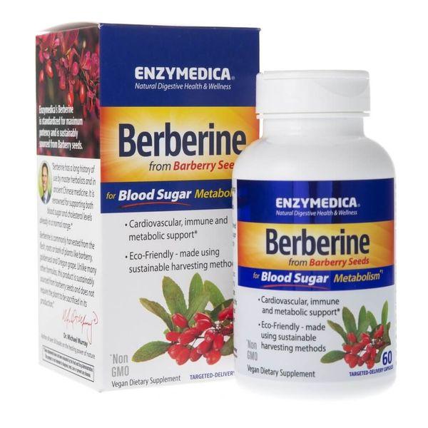 Enzymedica Berberyna 500 mg - 60 kapsułek zdjęcie 1