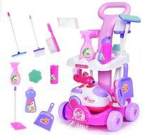5w1 Wózek do sprzatania odkurzacz dla dzieci dziewczynki Z09