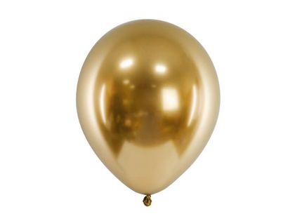Balon glossy złoty, 30 cm