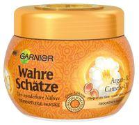 Garnier Wahre Schatze Tiefenpflege-Maske Argan- & Camelia-Öl maska olej arganowy, kamelia