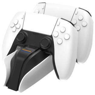 snakebyte Twin:Charge 5 ładowarka PS5 biała