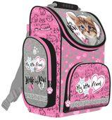 Tornister szkolny dla dziewczynki My Little Friend - kot różowy