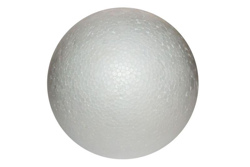 Bombka kula styropianowa 15 cm 1 szt decoupage zdjęcie 1