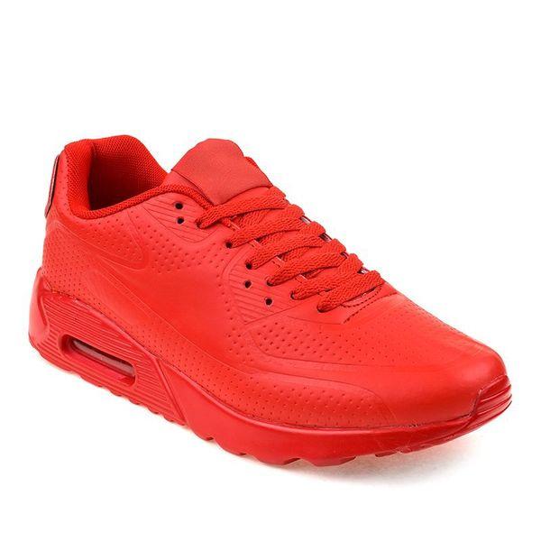 Czerwone męskie obuwie sportowe r.45 zdjęcie 2