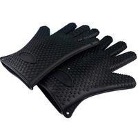 Rękawiczki ŻAROODPORNE - Czarne