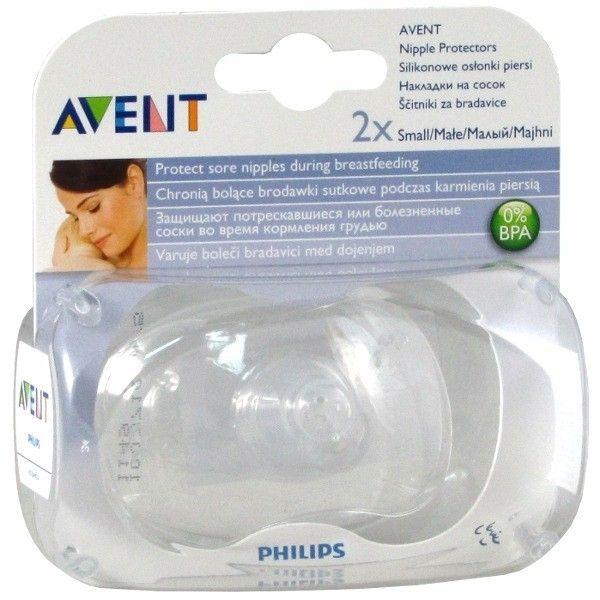 Avent silikonowe osłonki piersi - małe zdjęcie 1