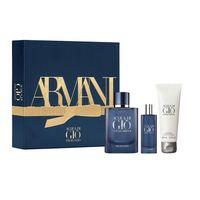 Giorgio Armani Acqua Di Gio Profondo Zestaw Woda Perfumowana Spray 75Ml + Woda Perfumowana 15Ml + Żel Pod Prysznic 75Ml