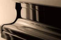 Fortepian Rozmiar - 40x26, Rodzaj płótna - Standard