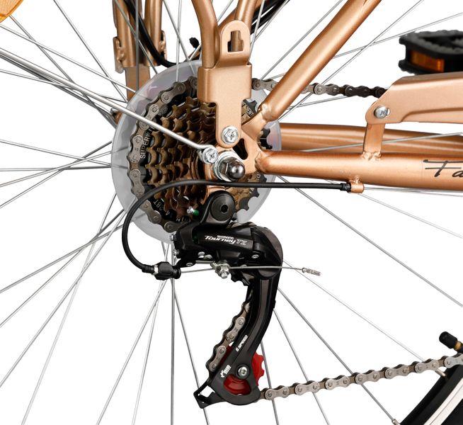 Rower Romet Margot 28'' ECO 6b złoty zdjęcie 4