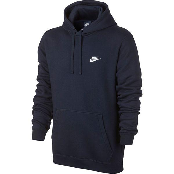 Bluza męska Nike M NSW Hoodie PO FLC Club granatowa 804346 451 XL