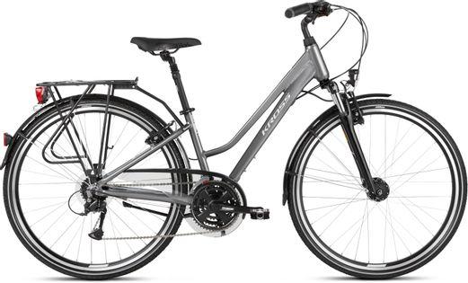 """Kross Trans 4.0 D 28 S 15"""" rower grafitowo-biały połysk 12"""