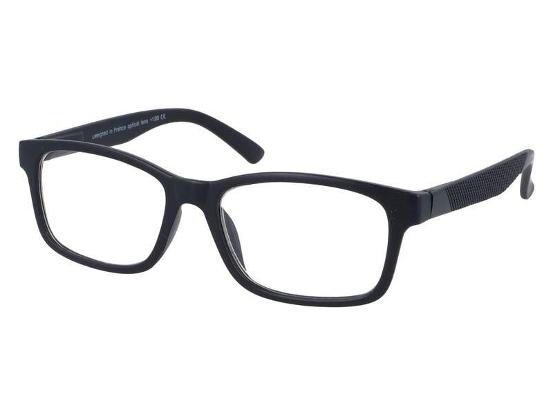 Korekcyjne okulary do czytania czarne plusy +3.50 zdjęcie 2