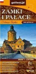 Zamki i pałace Dolnego Śląska 1:250 000 w.2020 praca zbiorowa