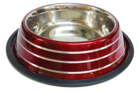 Miska Happet MM54 w paski czerwona 25cm/2,35l