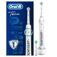 Elektryczna dla nastolatek Oral-B Teen D16 biała  SENSI Bluetooth