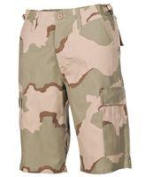 Spodnie US Bermuda BDU Rip Stop 3 Farben desert