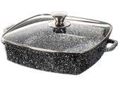 Garnek ceramiczny płaski 24cm Kingstone 3,2L