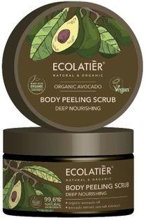 Ecolatier avocado peeling do ciała głęboko odżywiający