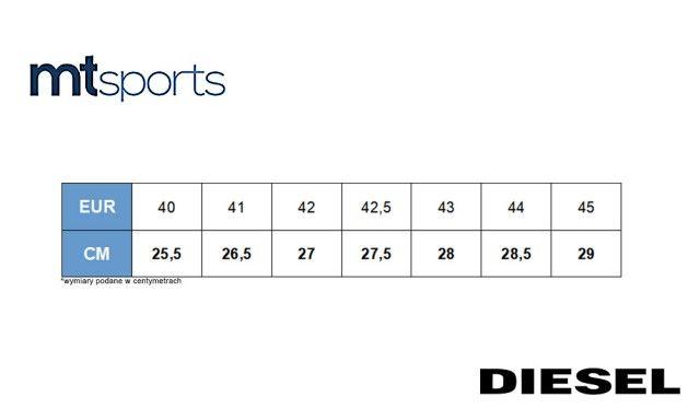 Diesel V-Staffetta S-Fleett Sneakers Y01461 P1190 H1888 - 42 zdjęcie 11