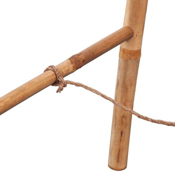 Wieszak Na Ręczniki Drabinka Bambusowy 50x160cm Do łazienki
