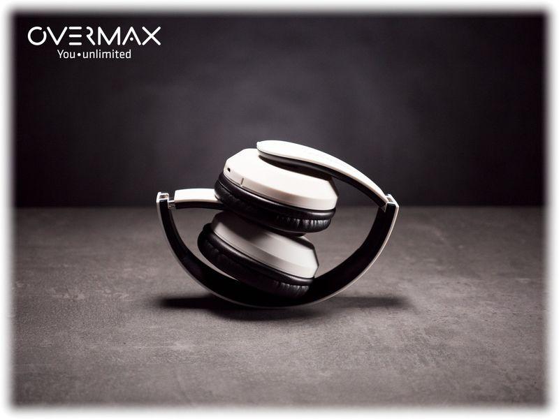 Słuchawki Bezprzewodowe Białe MP3 BT OVERMAX SOUNDBOOST 2.2 zdjęcie 7