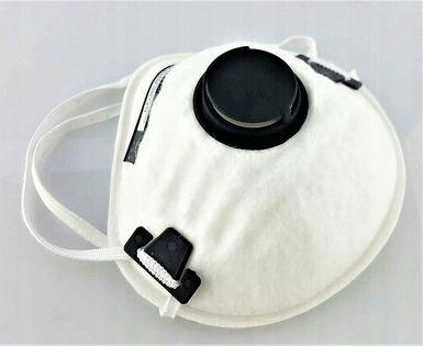 2x Półmaska maska ochronna przeciwpyłowa FFP2 P2 zaworek POLSKA