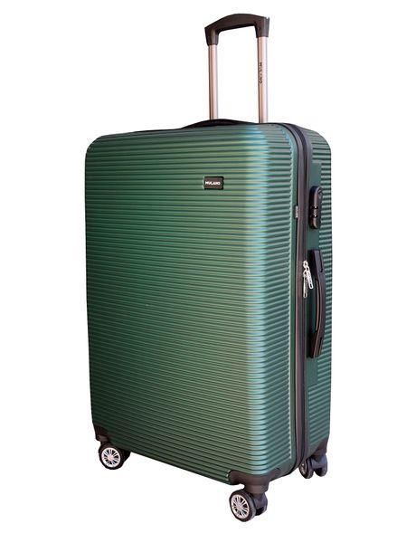 ZESTAW WALIZEK podróżnych walizka walizki XL + M ZIELONE zdjęcie 3