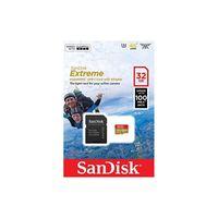 Karta pamięci microSDHC SanDisk EXTREME 32GB 100/60 MB/s A1 Class 10 V30 UHS-I U3 - GoPro